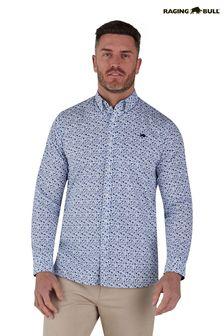 Krawatte und Einstecktuch mit Blumenmuster