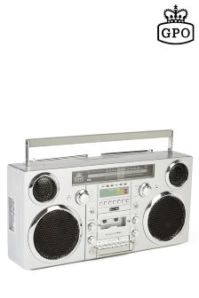 GPO Brooklyn Bluetooth, CD, Radio And Cassette Player