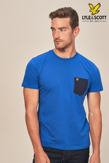 T-shirt Lyle & Scott avec poche