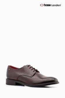 Base London Brown Wide Fit Regent Formal Shoe