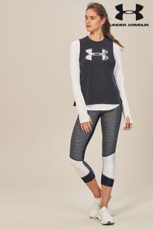 Under Armour Black Heat Gear Armour Tight