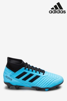 adidas Blue Hardwired Predator Firm Ground Football Boots