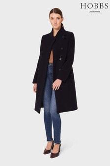 Hobbs Blue Petite Maisie Coat