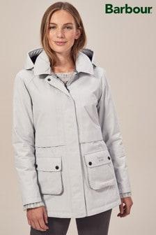 Barbour® Irisa Waterproof White Jacket