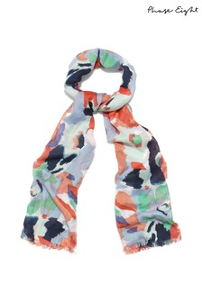 Phase Eight Multi Renee Smudge Floral Scarf