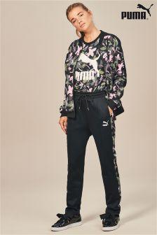 Puma® Black All Over Print Track Pant