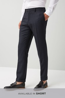 Skinny Fit Signature British Wool Suit: Trouser