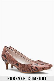 Туфли-лодочки на каблуке-рюмочка