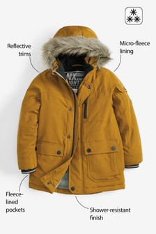 Shower Resistant Parka (3-16yrs)