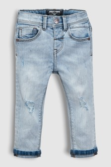 Distressed Jeans With Stretch (3mths-6yrs)