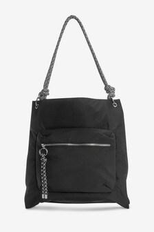 Nylon Hobo Bag