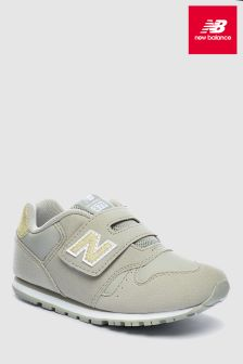 New Balance Grey 373 Velcro