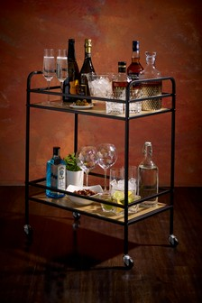 Salvage Drinks Trolley
