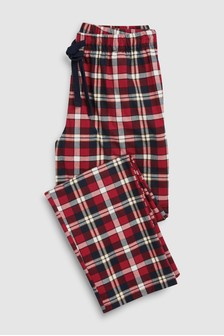 Check Cosy Pyjama Bottoms