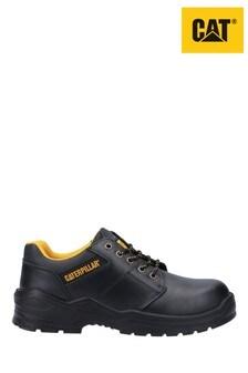 CAT Black Striver Low Safety Shoes
