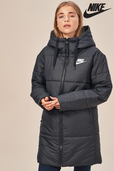 Nike Black Reversible Synthetic Fill Parka