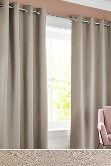 Chic Dot Eyelet Curtains