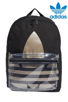 adidas Originals Black Metallic Trefoil Backpack
