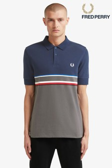 Fred Perry Chest Stripe Poloshirt