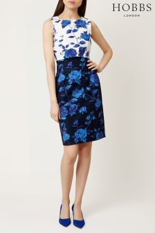 Hobbs Blue Bree Dress