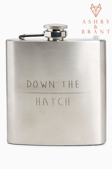 Ashby & Brant 6oz Hip Flask