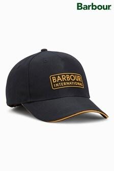 Barbour® International Black Hudson Sports Cap