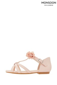 Monsoon Ariah Pink Corsage Sandals