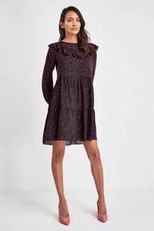 שמלת סרבל עם מלמלה