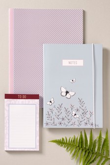 Set of 3 Assorted Notebooks