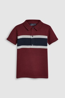 Colourblock Polo (3-16yrs)