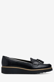 80908f74ddb1 Black · Berry Patent · Leather EVA Tassel Loafers