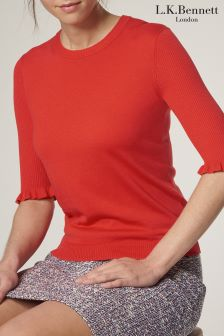 L.K.Bennett Adina Knitted Top
