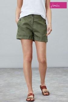 Joules Green Lydia Linen Short