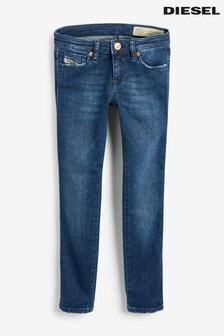 Diesel® Kids Skinzee Jeans in dunkler Waschung