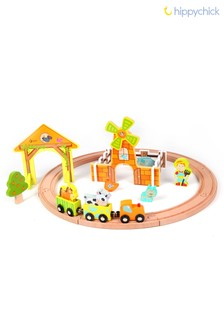 Farm Train Set by Hippychick