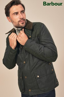 Barbour® Olive Wight Waxed Jacket