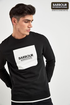 Barbour® International Black Crew