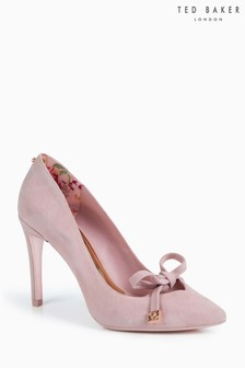 Ted Baker Suede Bow Court Shoe