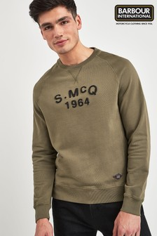 Barbour® International Grey Raceway Sweater
