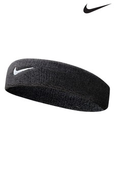 Nike Black Swoosh Headband