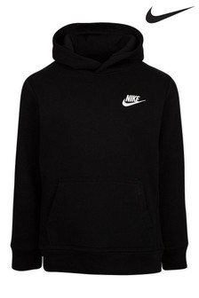 Nike Little Kids Black Fleece Hoody