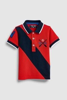 Short Sleeve Branded Polo (3mths-7yrs)