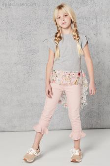 Angel & Rocket Pink Denim Jean