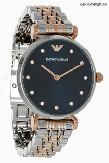 Emporio Armani Two Tone Watch