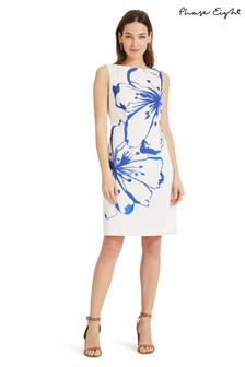Phase Eight White Silva Floral Dress
