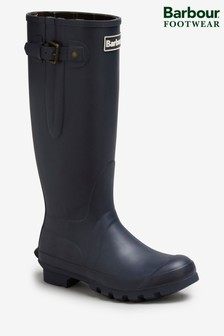 Barbour® Amble Navy Wellies