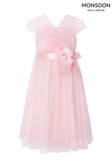 Monsoon Pale Pink Marchelina Dress