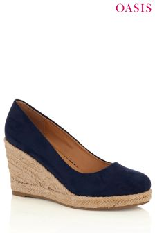 Oasis Blue Willow Wedge