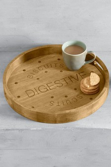 Wooden Digestive Tray