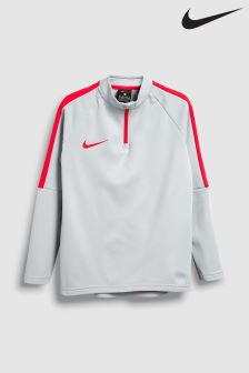 Nike Grey Academy Drill Top